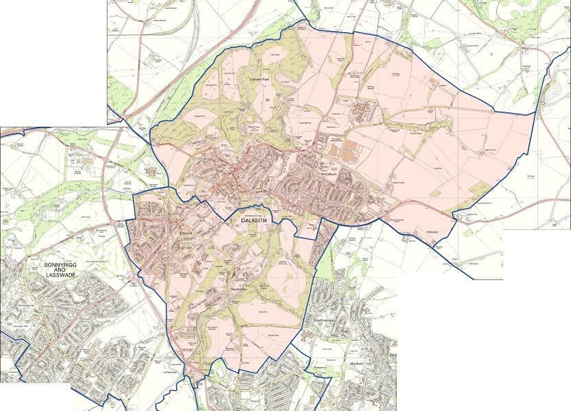 One Dalkeith Area Map